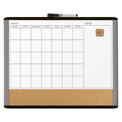 Ubrands MOD Frame 3 n 1 Calendar Board - 16  x 20