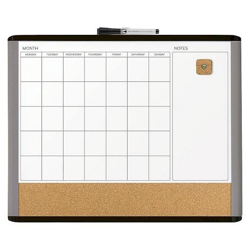 Ubrands Mod Frame 3 N 1 Calendar Board 16 X 20 Target