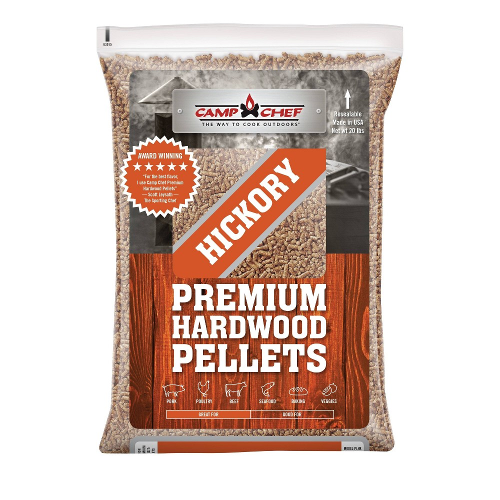 Camp Chef Premium Hardwood Pellets – Brown 54459308