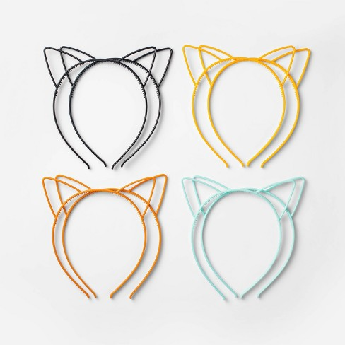 8ct Cat Ear Plastic Headband Halloween Party Favors - Hyde & EEK! Boutique™ - image 1 of 1
