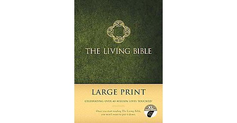 Living Bible : Paraphrased (Large Print) (Hardcover) - image 1 of 1