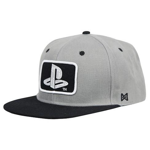 Sony PlayStation Bug Logo Baseball Hat   Target 0d7cec930d17