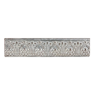 Decorative Wall Shelf Gray