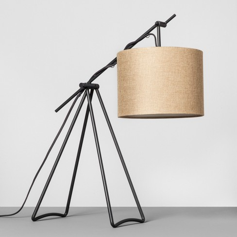 Charcoal Tripod Table Lamp - Hearth & Hand™ with Magnolia - image 1 of 4