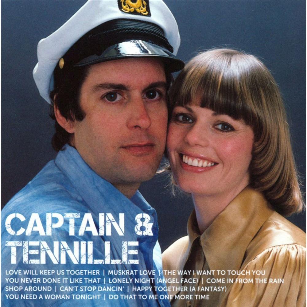 Captain & Tennille - Icon:Captain & Tennille (CD)