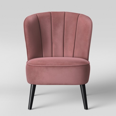 Excellent Primrose Chanel Tufted Accent Chair Mauve Opalhouse Bralicious Painted Fabric Chair Ideas Braliciousco