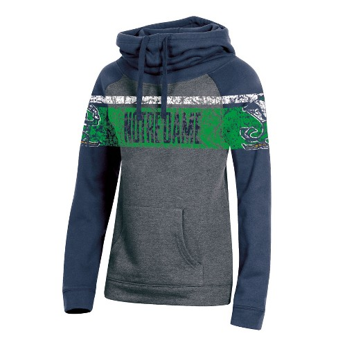 30a09c0132a Notre Dame Fighting Irish Women s Cowl Neck Hoodie - XL   Target