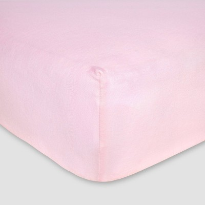 Burt's Bees Baby® Organic Jersey Fitted Crib Sheet - Blossom