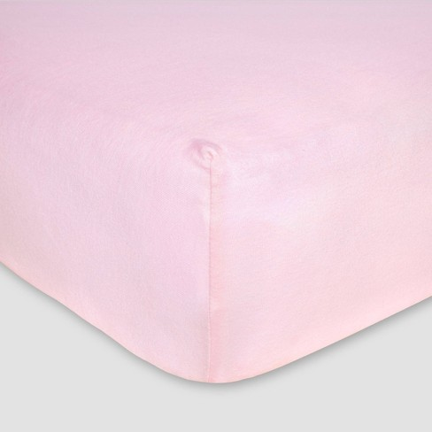 Solid Color Fitted Crib Sheet 100/% Organic Cotton Crib Sheet for Standard Crib