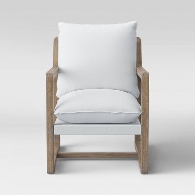 Boda Wood Arm Sling Chair Natural - Project 62™