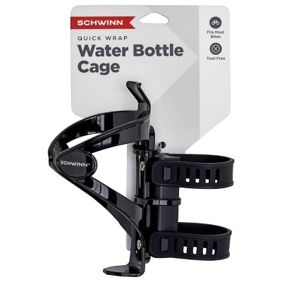 Schwinn EZ Wrap Bike Bottle Cage - Black