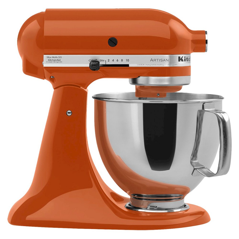 KitchenAid Artisan Series 5 Quart Tilt-Head Stand Mixer- Ksm150, Persimmon Orange 10575641
