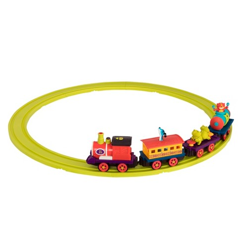 B toys Critter Express Train Set with Music & Lights - image 1 of 4