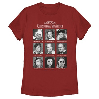 Women's National Lampoon's Christmas Vacation Griswold Yearbook T-Shirt