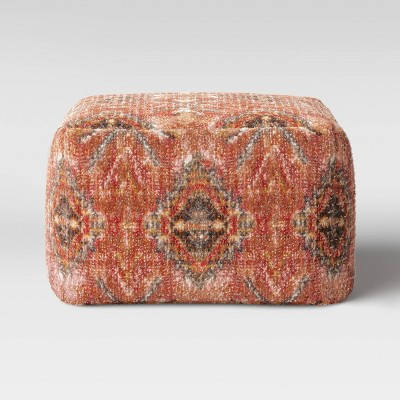 Florence Persian Rug Pouf Red/Brown - Threshold™