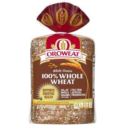 Oroweat 100% Whole Wheat Bread - 24oz