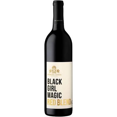 Black Girl Magic Red Blend Wine - 750ml Bottle
