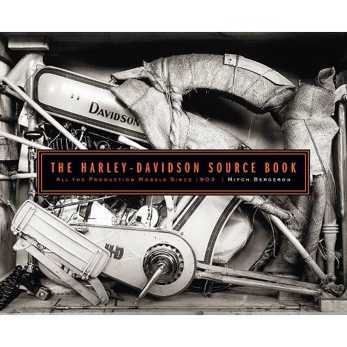 The Harley-Davidson Source Book - by  Mitch Bergeron (Hardcover) - image 1 of 1
