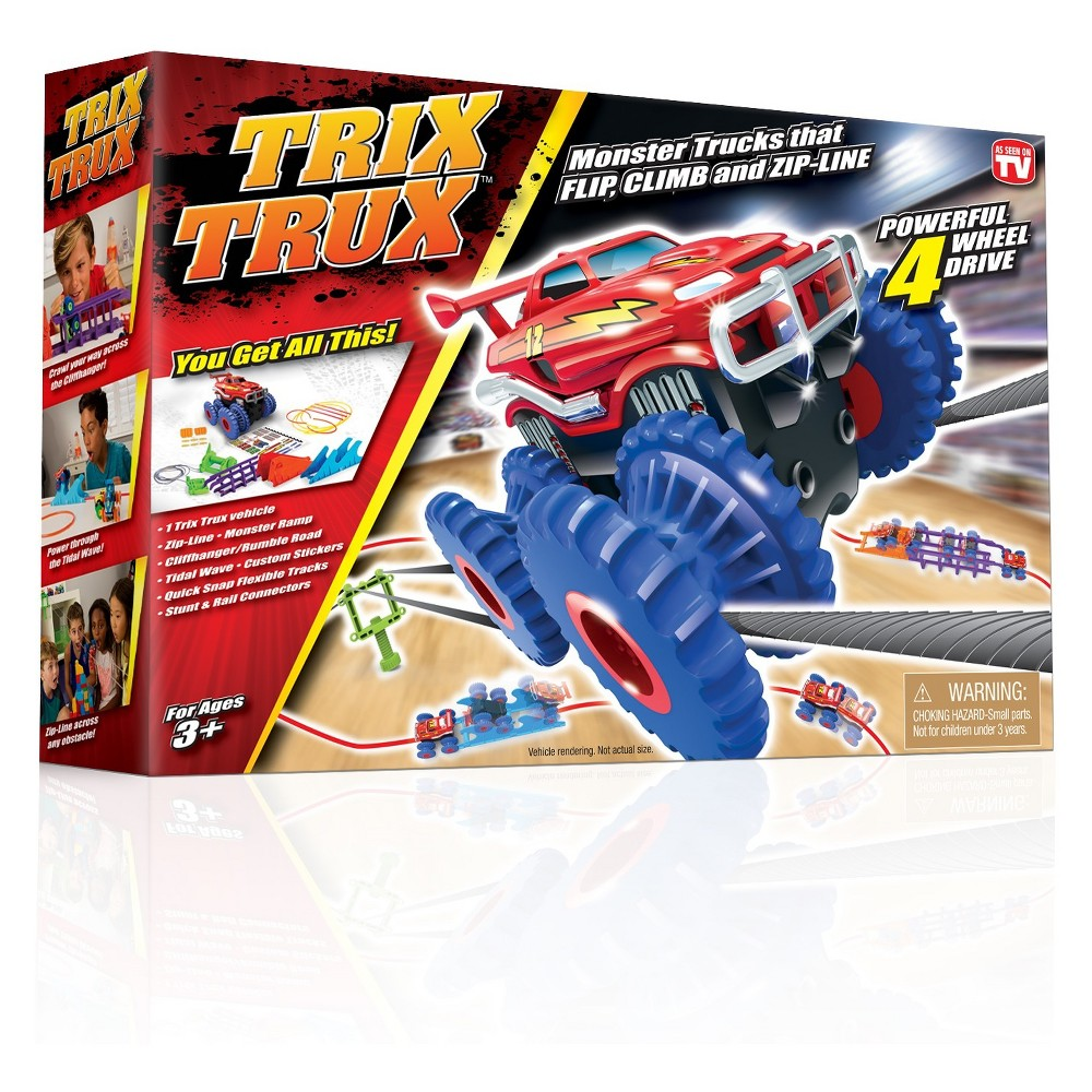 As Seen on TV Trix Trucks Toy Vehicles