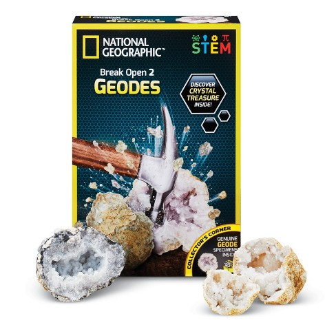 National Geographic Break Your Own Geode Kit - image 1 of 4