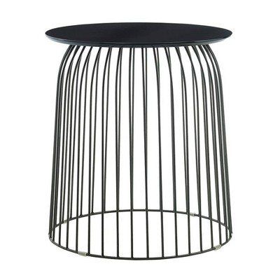 Wallace Accent Table Black - Finch
