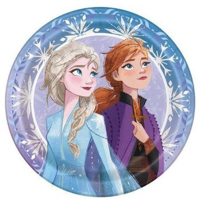 Birthday Express Frozen Party Frozen 2 Lunch Plate