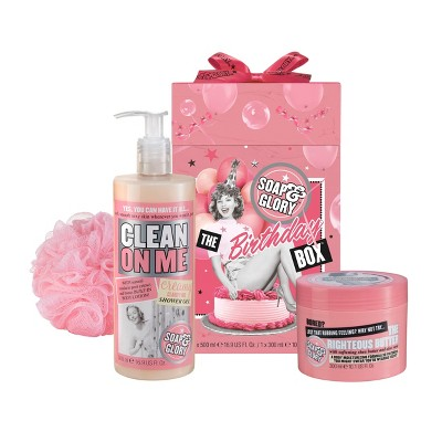 Soap & Glory The Birthday Box Gift Set - 3ct
