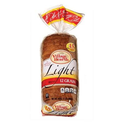 Village Hearth Light 12 Grain Bread - 16oz