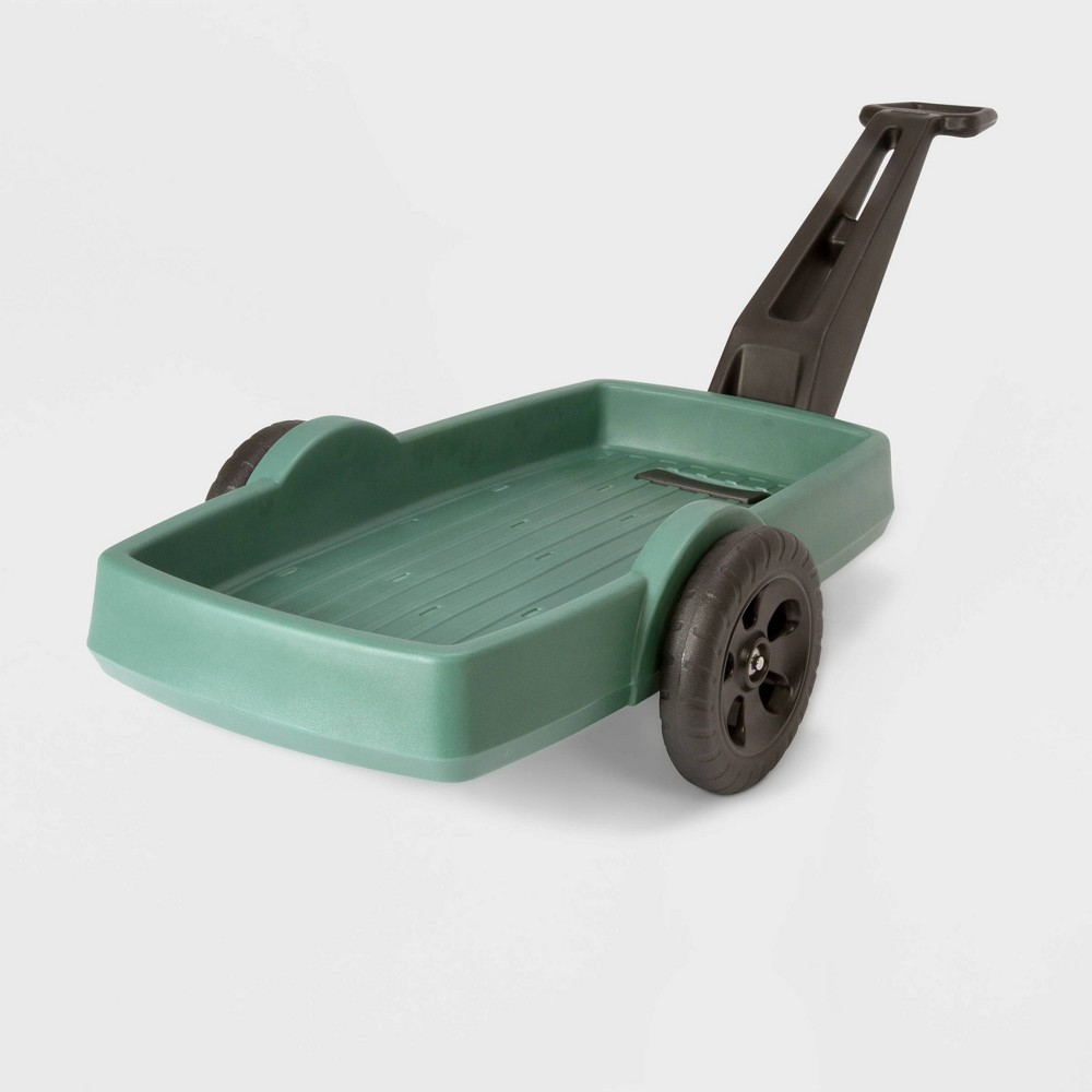Image of Simplay3 Easy Haul Flatbed Cart Dark Green