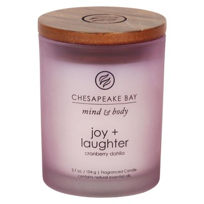 3.7oz Small Jar Candle Joy & Laughter - Chesapeake Bay Candle