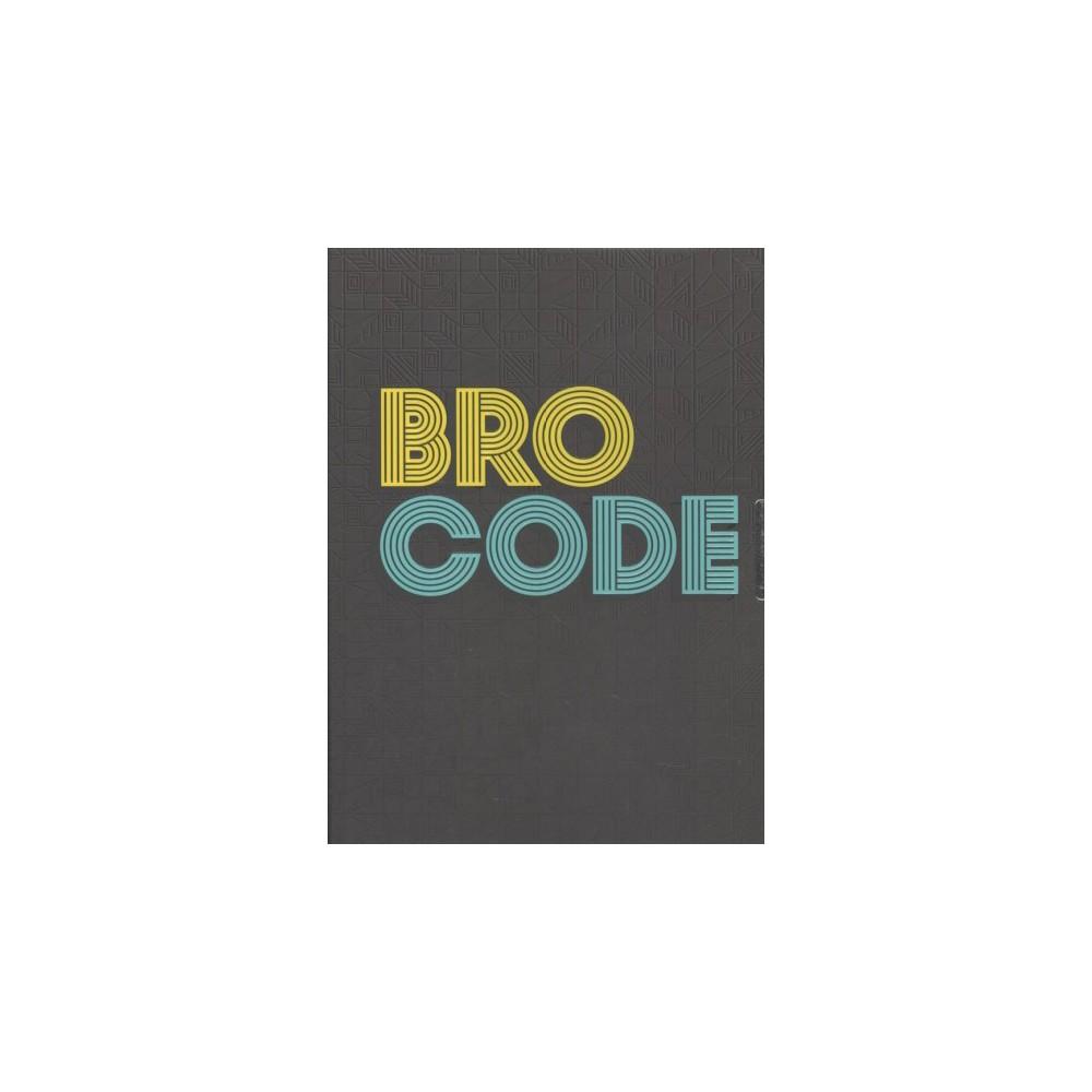 Bro Code Locking Journal - (Hardcover)