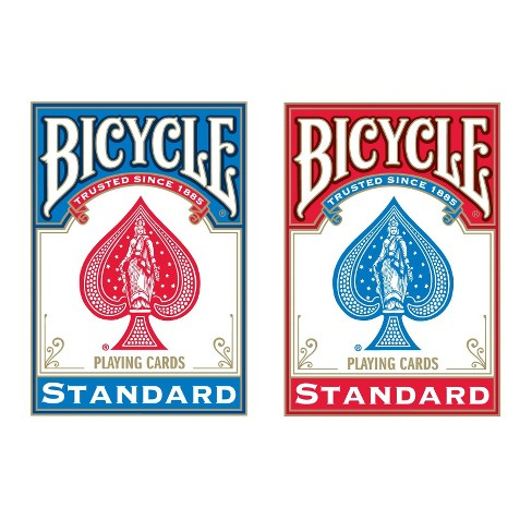 Bicycle Poker Size Standard Index Playing Cards - image 1 of 1