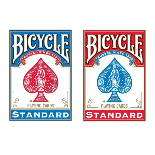 Bicycle Poker Size Standard Index Playing Cards image number null
