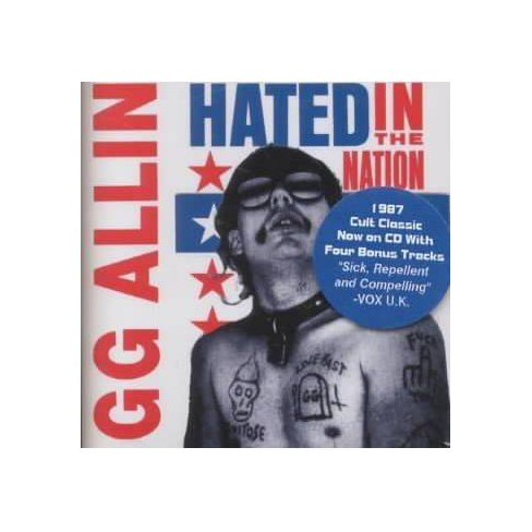GG Allin - Hated In The Nation (CD) - image 1 of 1