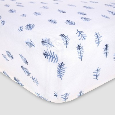 Burt's Bees Baby®Organic Fitted Crib Sheet - In The Pines