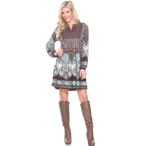 Women's Phebe Embroidered Sweater Dress - White Mark - image 1 of 3