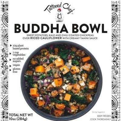 Tattooed Chef Frozen Buddha Bowl - 10oz