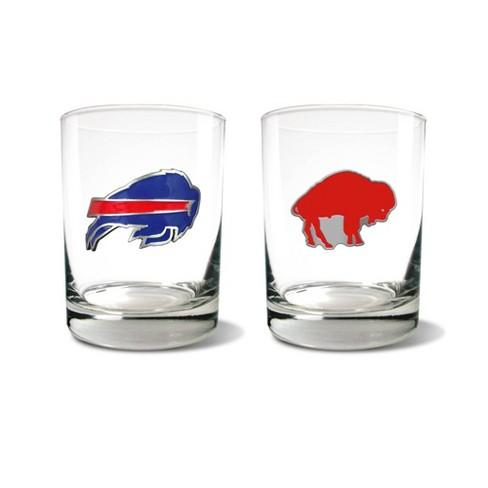 NFL Buffalo Bills Rocks Glass Set - 2pc - image 1 of 1