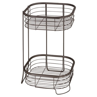 15 x9  Square Free Standing or Shower Storage Shelves Bronze - InterDesign