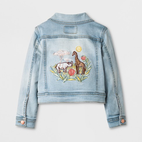 05a138dee Toddler Girls' Genuine Kids® From OshKosh Jean Jacket - Light Wash : Target