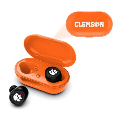 NCAA Clemson Tigers True Wireless Earbuds