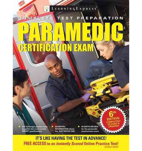 Paramedic Certification Exam (Paperback) - image 1 of 1