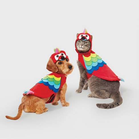 Parrot Halloween Dog and Cat Costume - Hyde & EEK! Boutique™ - image 1 of 4