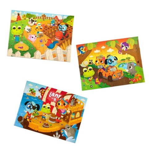 Land of B. 3 Jigsaw Puzzles - Puzzle Adventures - image 1 of 4