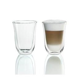1ca41100dd8 Delonghi Cappuccino Cups 2pk. DeLonghi 7.5 fl oz 2 Latte Double Wall  Thermal Glasses