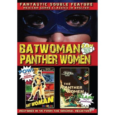 Batwoman & The Panther Women: Double Fea (DVD)(2021)
