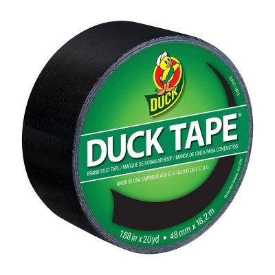 "Duck 1.88"" x 20yd Duct Industrial Tape Black"