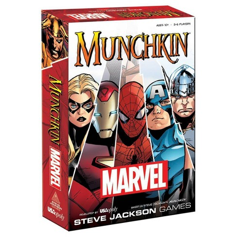 Munchkin: Marvel Board Game - image 1 of 4