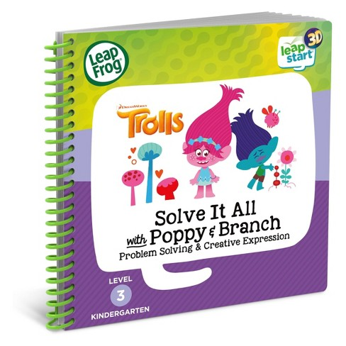LeapFrog Leapstart Solve It All with Poppy and Branch Trolls Book - 3D - image 1 of 5