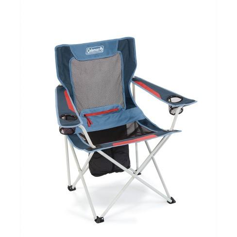 Prime Coleman All Season Folding Camp Chair Dusk Creativecarmelina Interior Chair Design Creativecarmelinacom